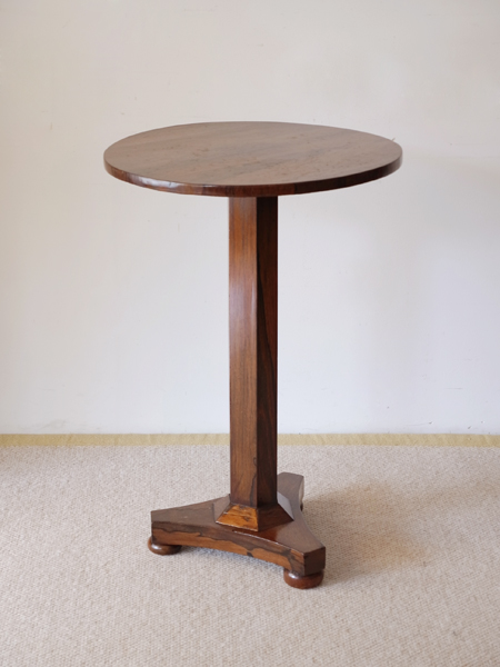 SHK203 アンティーク ローズウッド ラウンド テーブル