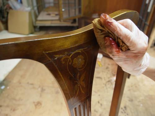 椅子背repair