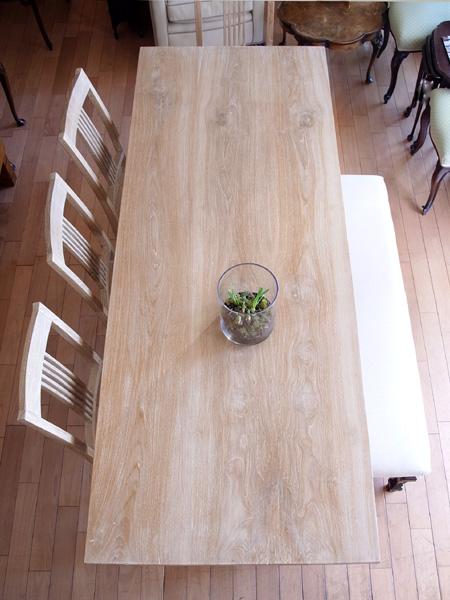 チークワークテーブル4