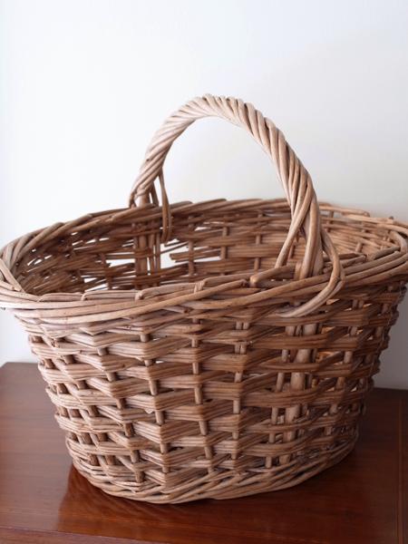 BN601 アンティーク バスケット