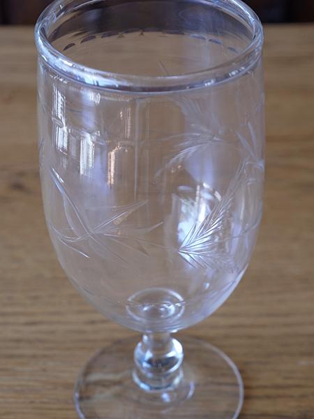 SHB5a アンティーク ガラス フラワーベース