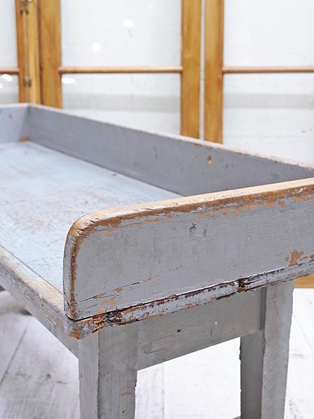 KW75 アンティーク ペイント ローテーブル