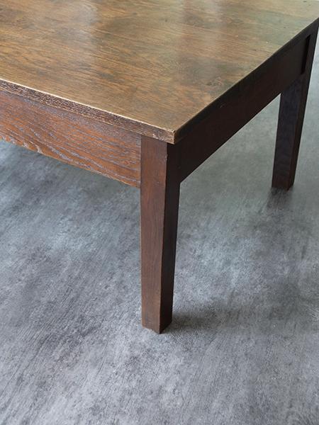 KJ138 アンティーク オークコーヒーテーブル