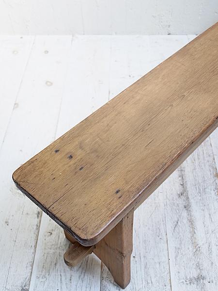 KW163b アンティーク オールドパイン ベンチ