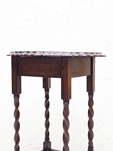 KX117 アンティーク オーク オケージョナル テーブル