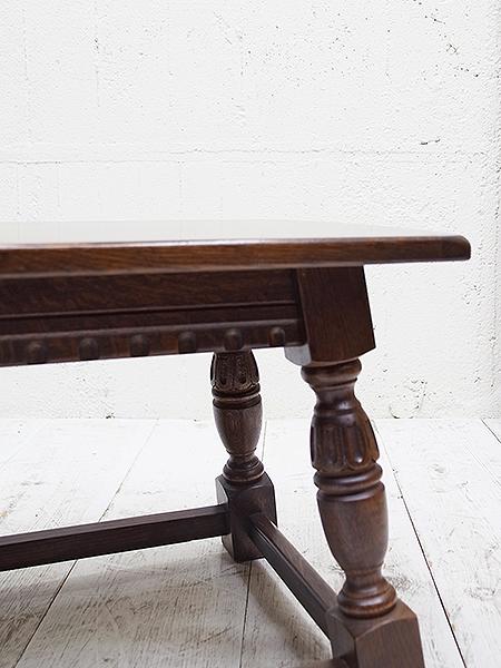 KX102 アンティーク オーク コーヒーテーブル