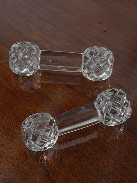 SHB9 アンティーク ガラス ナイフレスト