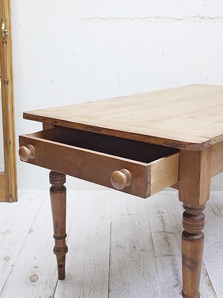 KX43 アンティーク オールドパイン テーブル