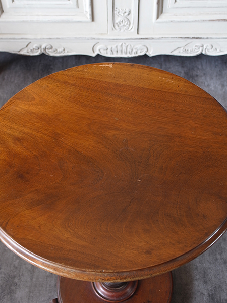 KX87 アンティーク マホガニーサイドテーブル