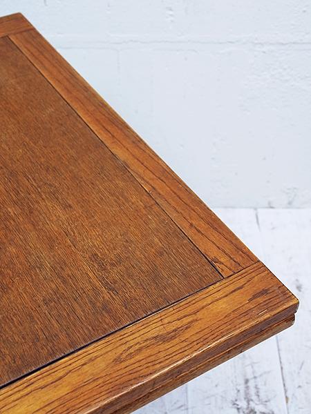 KX120 アンティーク オーク ドローリーフ テーブル