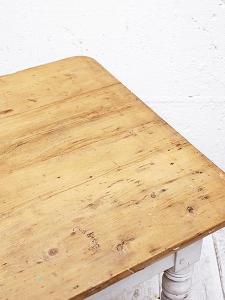 KX17 アンティーク フレンチ オールドパイン ペイント テーブル