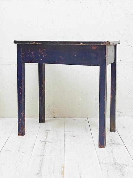 KX68 アンティーク エナメルトップ ペイント テーブル