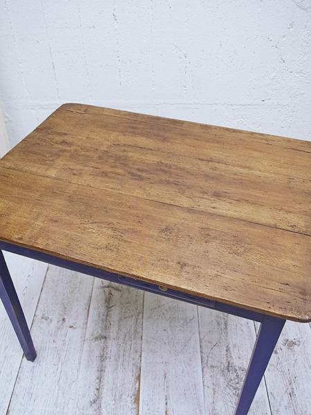 KX9 アンティーク フレンチ オールドパイン ペイント テーブル