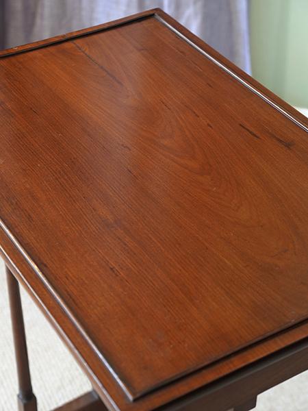 KX128 アンティーク マホガニーネストテーブル