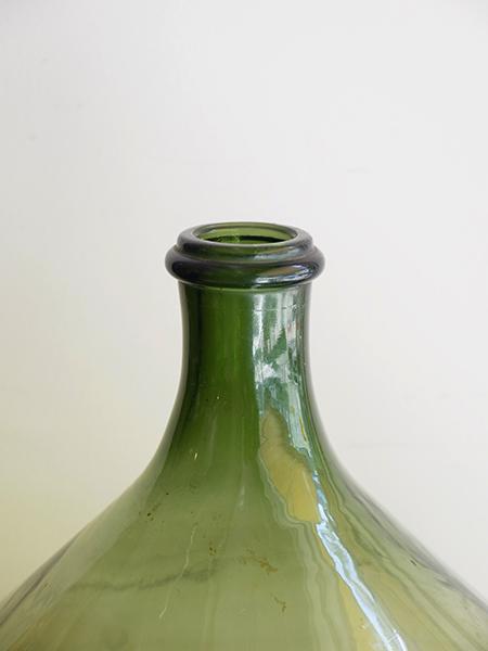 KX3a アンティーク ガラスワインボトル