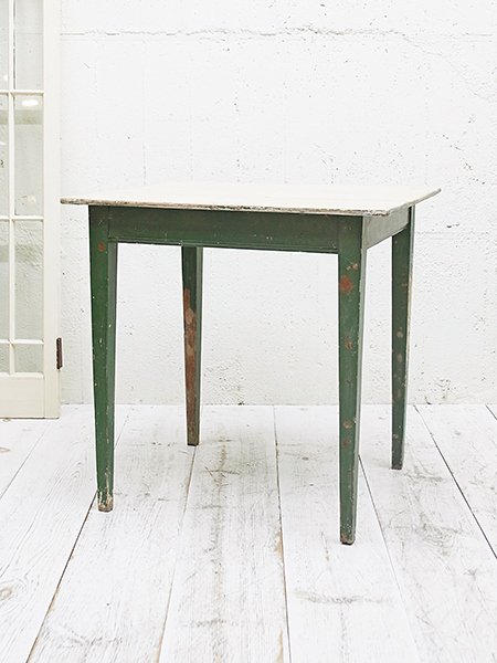 KX60 アンティーク ペイント サイドテーブル