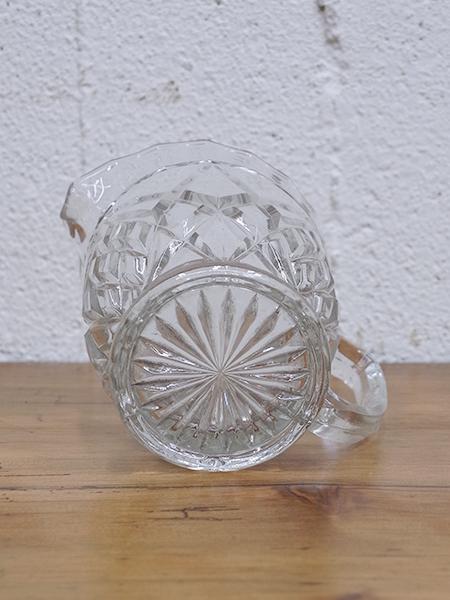 KV150c アンティーク ガラス ジャグ