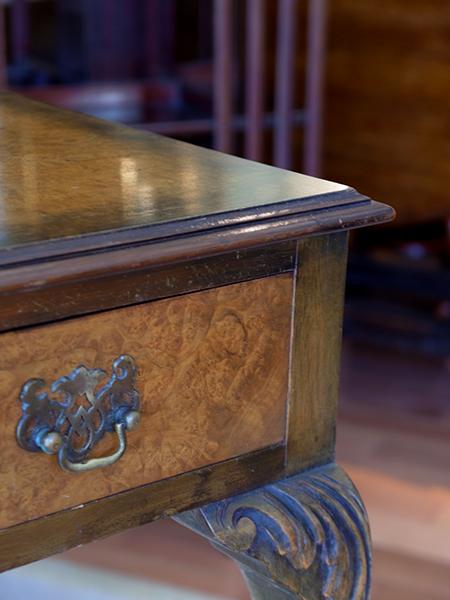 KX147 アンティーク ウォルナットサイドテーブル