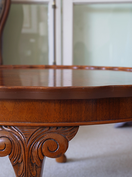 KX149 アンティーク ウォルナットコーヒーテーブル