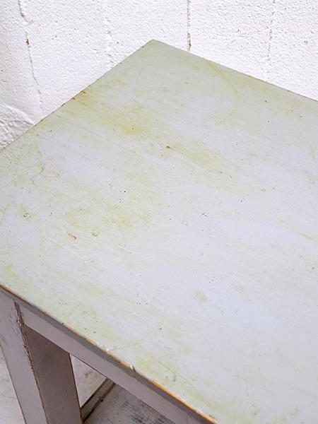 KY137 アンティーク ペイント ワークテーブル