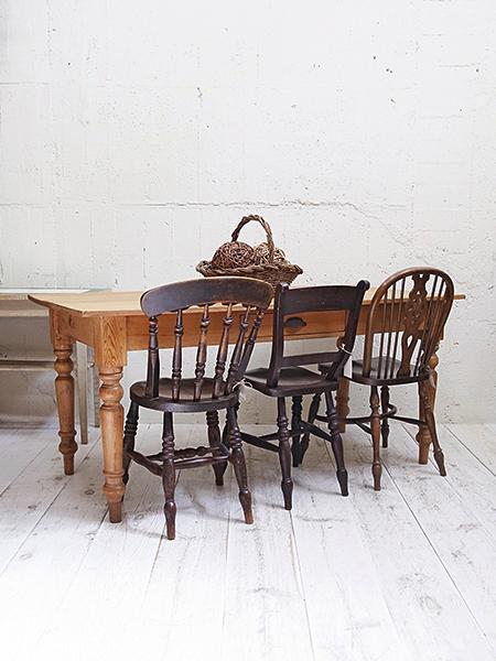 KY66 アンティーク オールドパイン テーブル