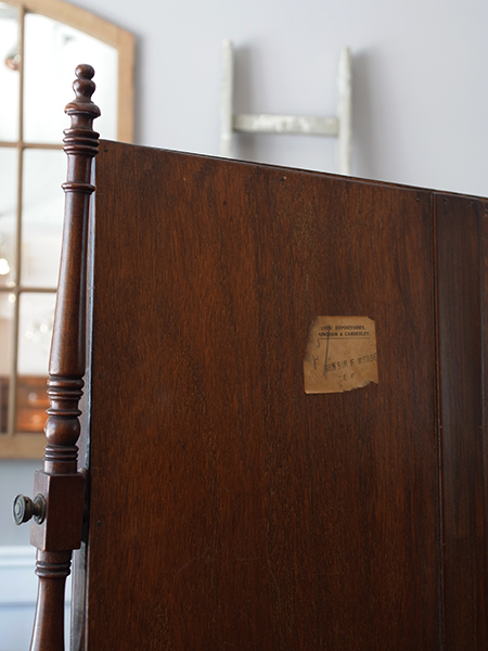 KY51 アンティーク マホガニーテーブルミラー