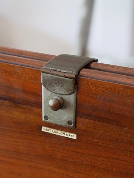 ND68 アンティーク マホガニーフォールディングテーブル