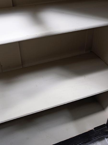 KY140 アンティーク オールドパイン ペイント キャビネット