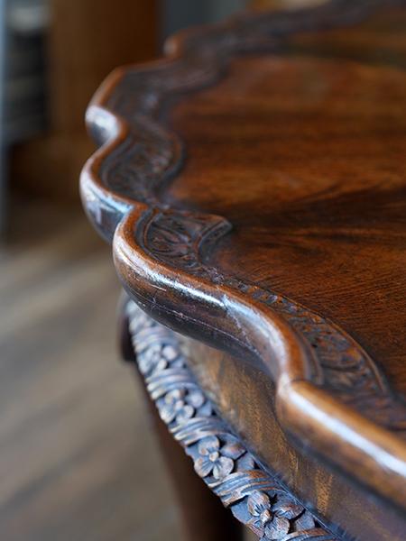 AM3 アンティーク ウォルナットコーヒーテーブル