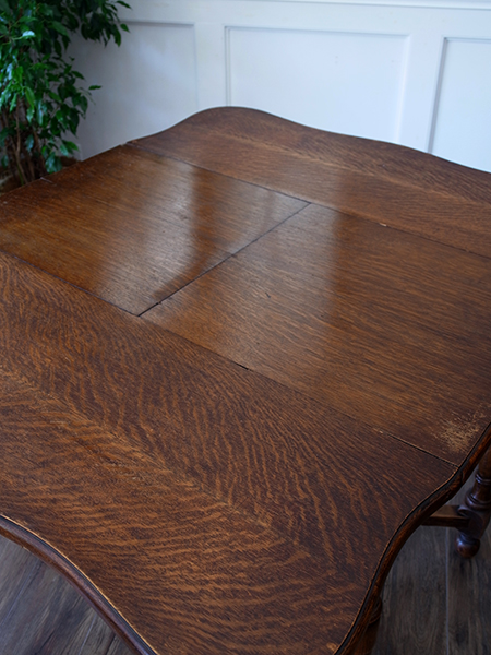 KA22 アンティーク オークサプライズテーブル
