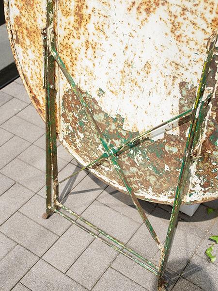 KA163b アンティーク フレンチガーデンテーブル