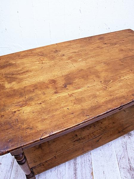 KA160 アンティーク オールドパイン ワークテーブル