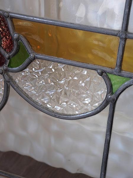 KA42d アンティーク ステンドガラス