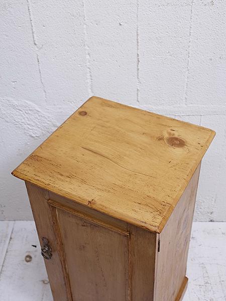 KA64 アンティーク オールドパイン ポットカップボード
