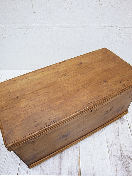 KA196 アンティーク オールドパイン ボックス