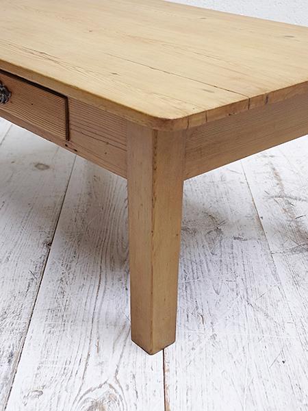 KA76 アンティーク オールドパイン コーヒーテーブル
