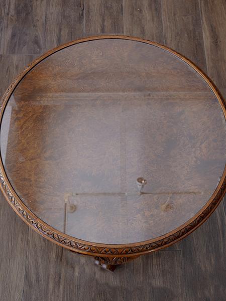 KZ27 アンティーク ウォルナットコーヒーテーブル