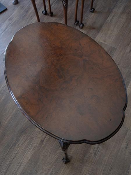 KB55 アンティーク ウォルナットネストテーブル
