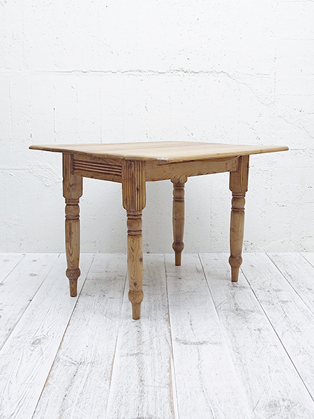 KA77 アンティーク オールドパイン バタフライ テーブル