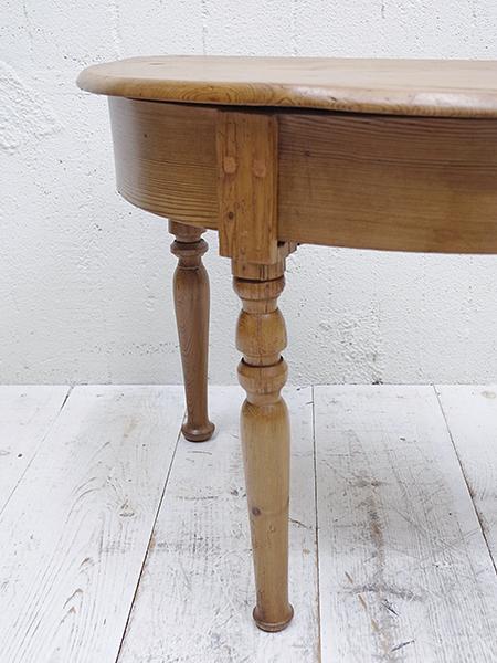 KA61 アンティーク オールドパイン コンソールテーブル