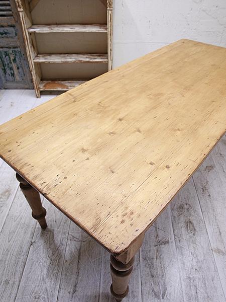 KA139 アンティーク オールドパイン テーブル