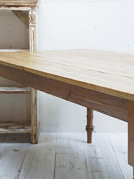 KA84 アンティーク オールドパイン テーブル