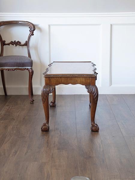 KB15 アンティーク ウォルナットコーヒーテーブル