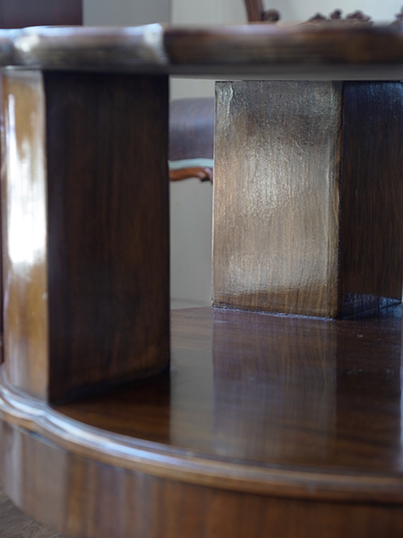 KB29 アンティーク ウォルナットコーヒーテーブル