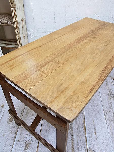 KA143 アンティーク オールドパイン フォールディングテーブル