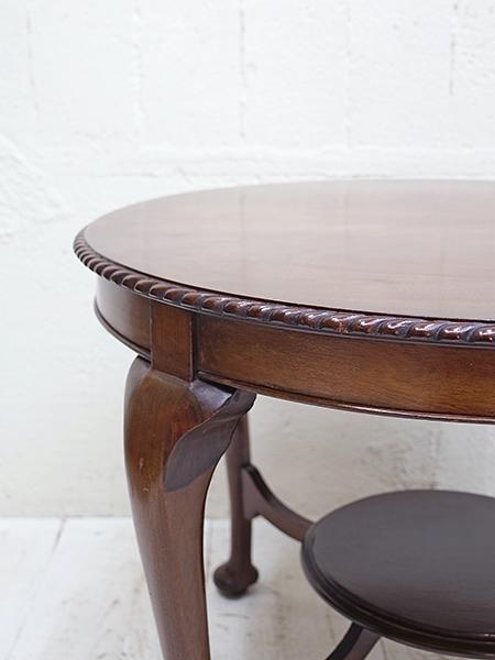 KB49 アンティーク マホガニー コーヒーテーブル
