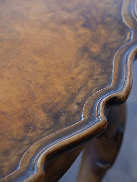 KB91 アンティーク ウォルナットコーヒーテーブル