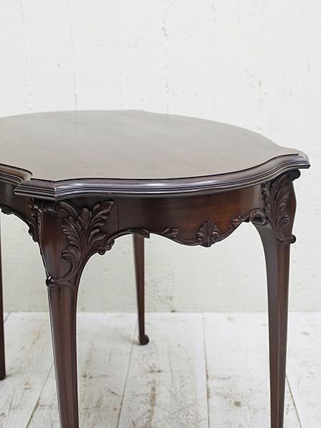KC9 アンティーク マホガニー ティーテーブル