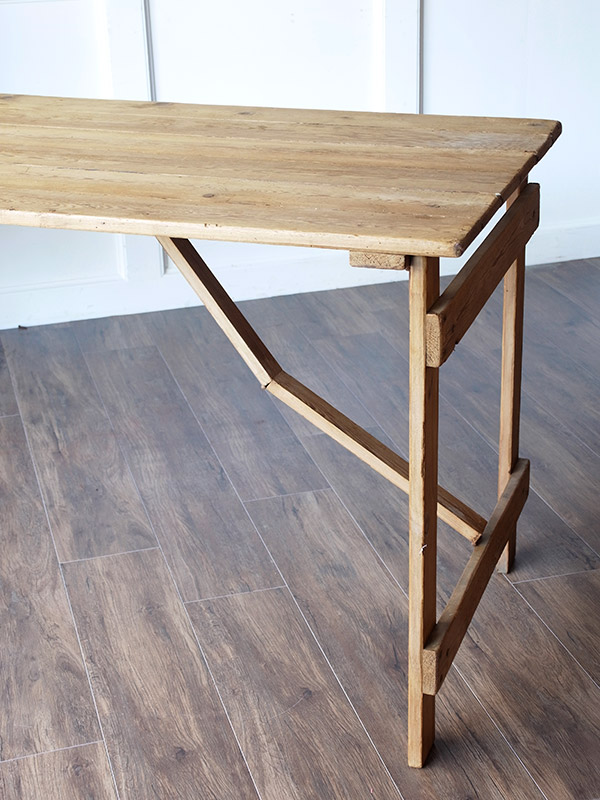 KC199c アンティーク オールドパインフォールディングテーブル
