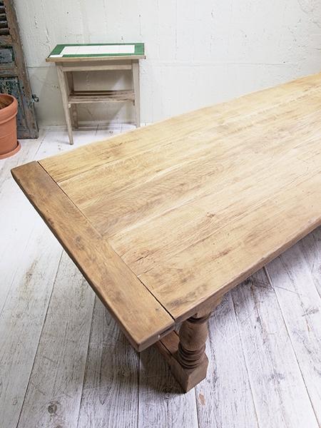 PJ699 アンティーク オーク テーブル